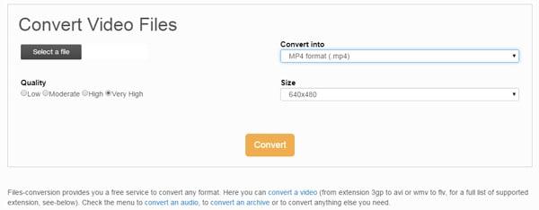 wmv to mp4 online converter