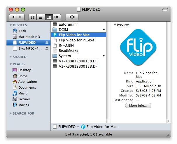 Convertitore di video flip