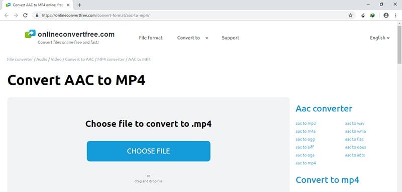 Online MP4 to WMA Converter OnlineConvertFree