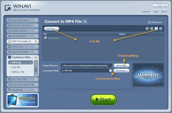 wmv to mp4 converter free download