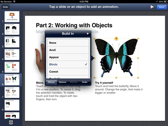 View PowerPoint on iPad using Keynote