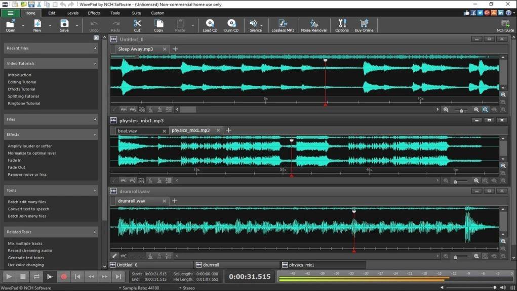 audio bearbeitungs software
