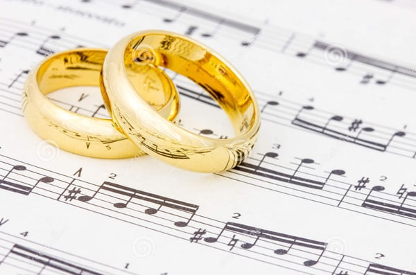 weeding music slideshow ideas