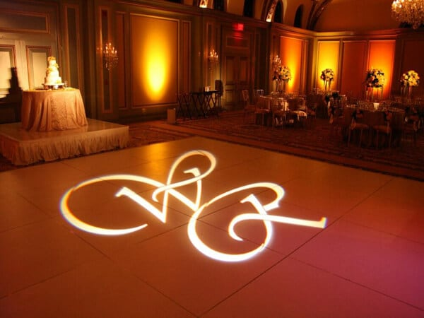 weeding projection slideshow ideas